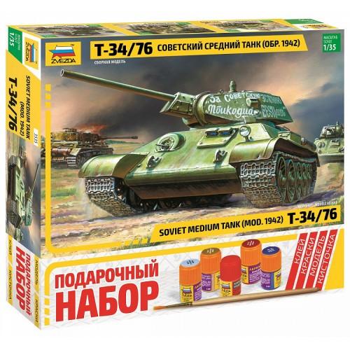 Советский средний танк Т-34/76 (обр. 1942 г.).