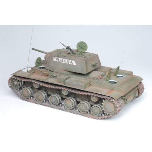 Тяжелый советский танк КВ-1. Сборная модель