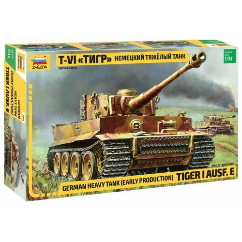 Немецкий тяжелый танк T-VI «Тигр» 1:35 Сборная модель