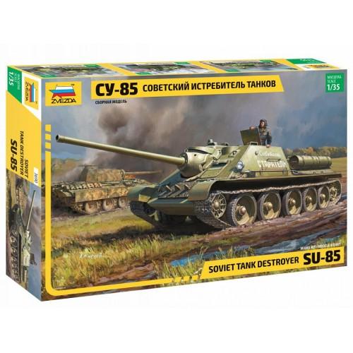 """Модель сборная """"Советский истребитель танков """"Су-85"""""""