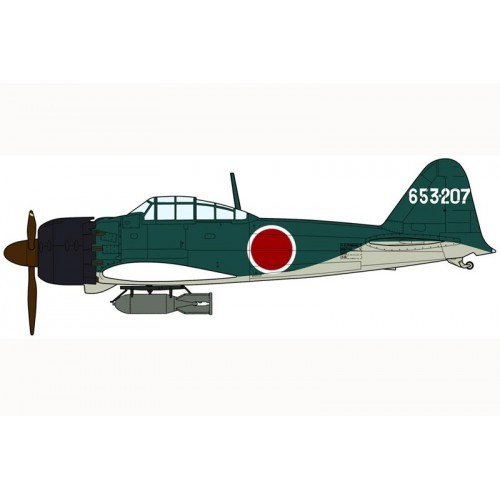 Hasegawa H07304 1:48 самолет MITSUBISHI A6M5a ZERO FIGHTER TYPE 52