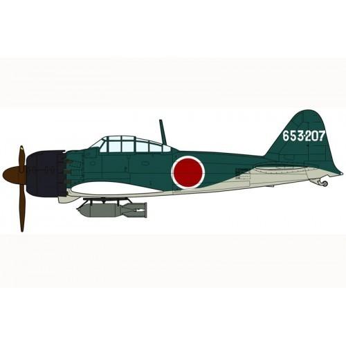 Hasegawa H07304 1:48 самолет MITSUBISHI A6M5a ZERO FIGHTER TYPE 52