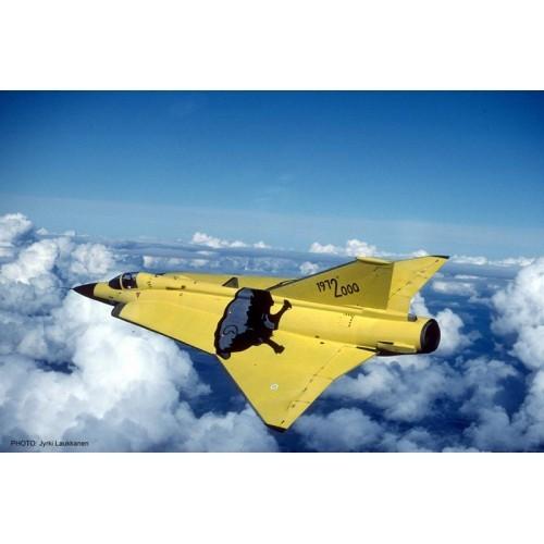 Hasegawa H07305 1:48 самолет J35S DRAKEN