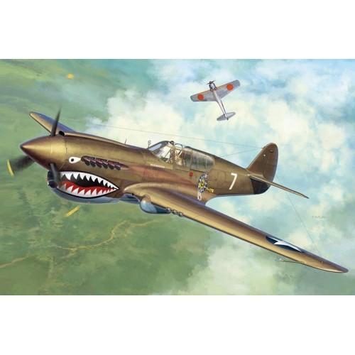 Hasegawa H08226 1:32 самолет P-40E/K WARHAWK