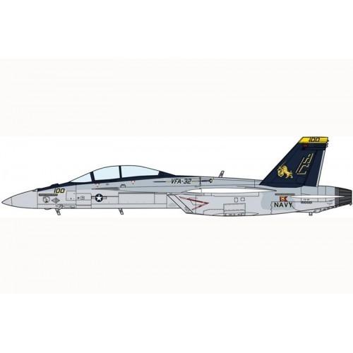 Hasegawa H02010 1:72 самолет F/A-18F VFA-32 SWORDSMEN