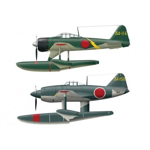 Hasegawa H02136 самолет 1/72 A6M2-N TYPE 2 & KYOFU
