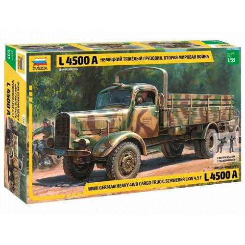 Немецкий тяжёлый грузовик L4500A