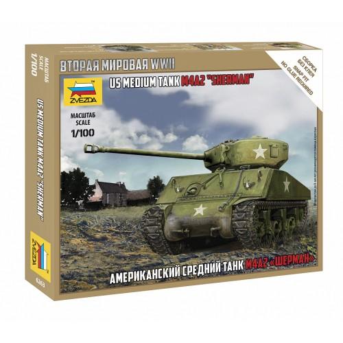 """Американский средний танк """"Шерман"""" М4А2"""