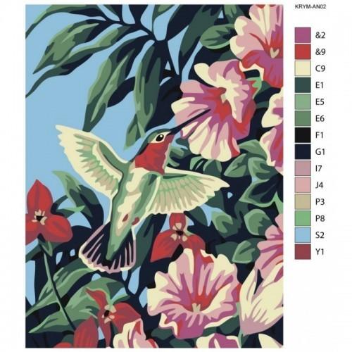 Картина по номерам, 30 x 40, KRYM-AN02