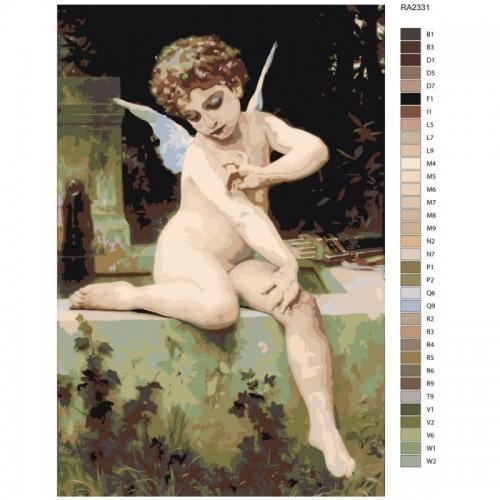 Картина по номерам, 40 x 60, RA233