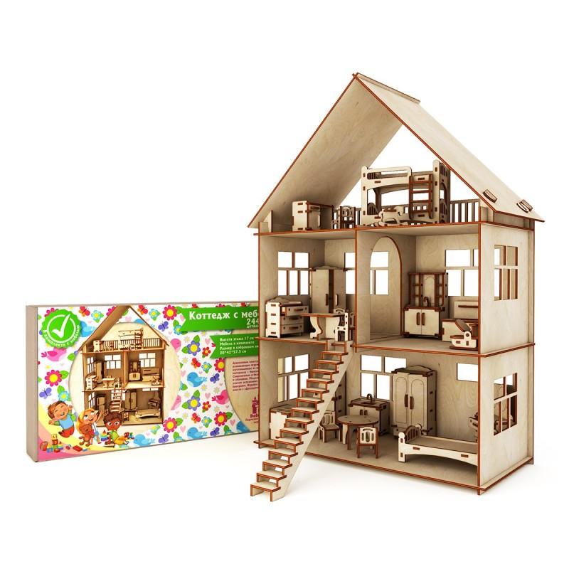 Коттедж с мебелью (Коробка, упаковка)