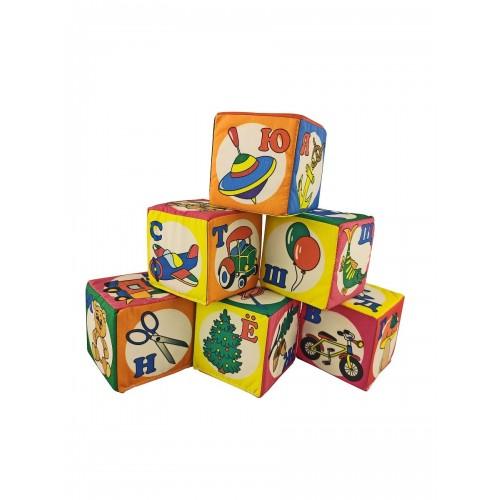 "Кубики ""Азбука"" NEW, 7 см"