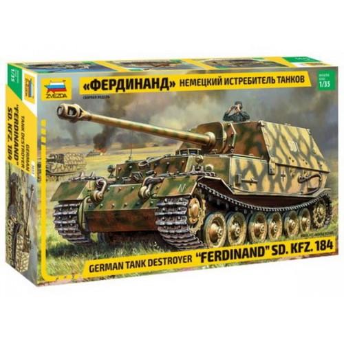 """Модель сборная"""" Немецкий истребитель танков """"Фердинанд"""""""