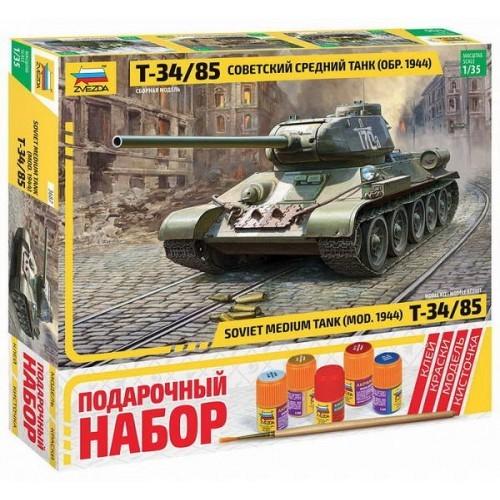 """Набор подарочный-сборка """"Советский средний танк """"Т-34/85"""""""
